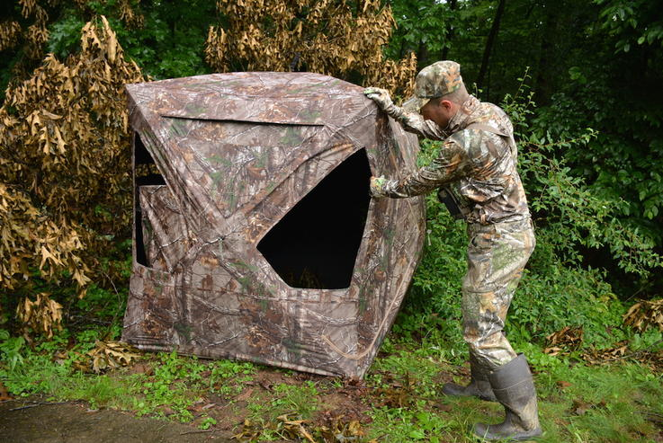 Blinds Ameristep Doghouse Hunting Blind Realtree Xtra Camo Deer Gun