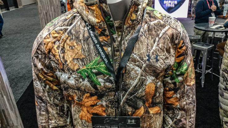 Under Armor Brow Tine Jacket and Pants in Realtree EDGE Camo
