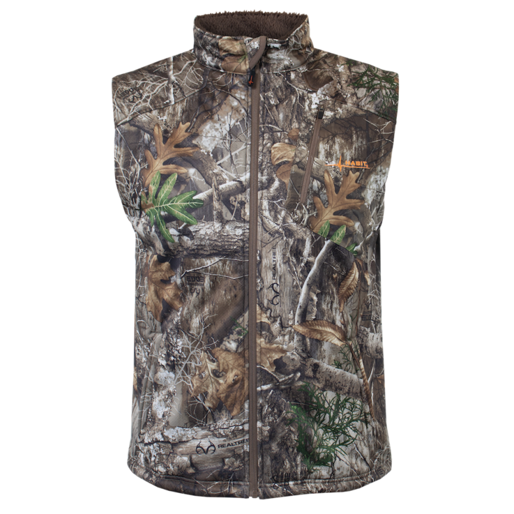 The Big Branch Sherpa vest has a fleece interior and weather-resistant shell. Image by Habit Outdoors