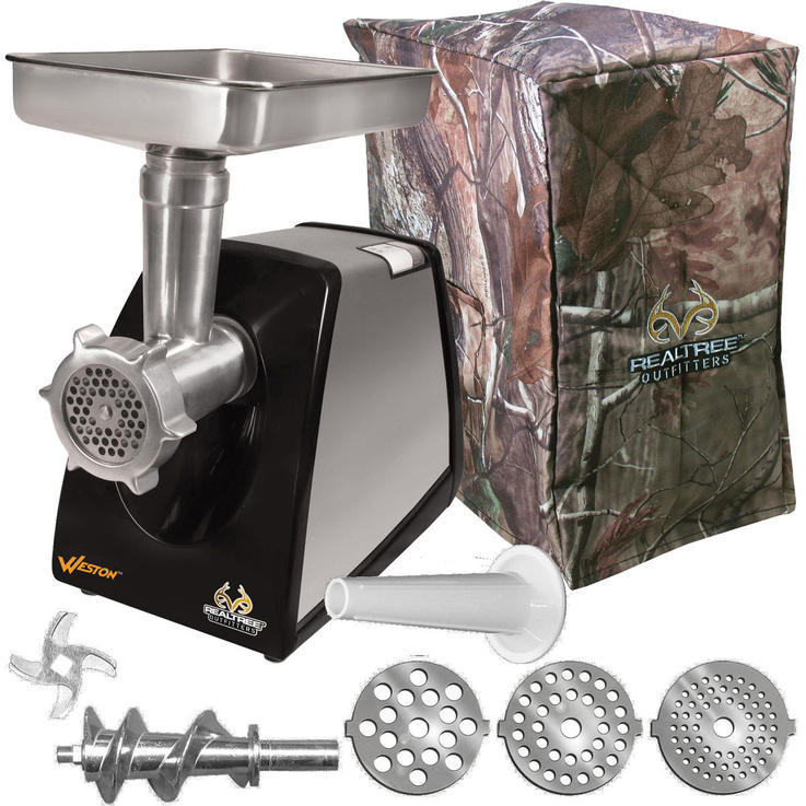 Weston Realtree Meat Grinder