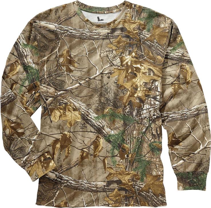 Field & Stream Youth Long Sleeve Realtree Xtra Camo Shirt