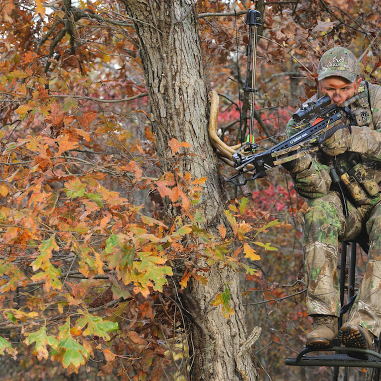 Hanging a Treestand Near Someone Else